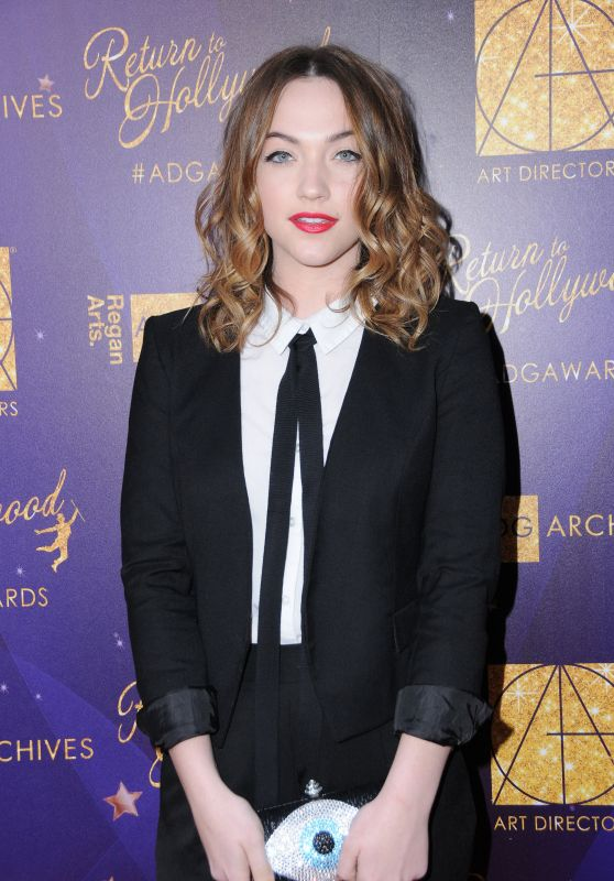 Violett Beane - 21st Annual Art Directors Guild Excellence in Production Design Awards in LA 2/11/ 2017