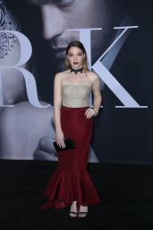 Violett Beane – 'Fifty Shades Darker' Premiere in Los Angeles 2/2/ 2017