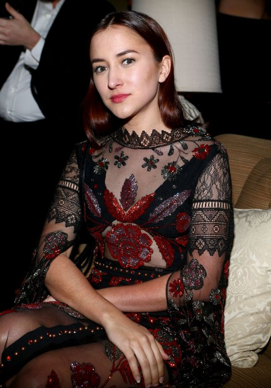 Zelda Williams - Gemfields Oscars Cocktail Party in Los Angeles, February 2017