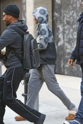 Zendaya - Heading Out of Her Apartment in New York City 2/5/ 2017