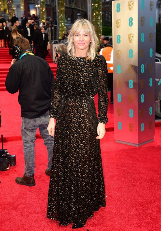 Zoe Ball at BAFTA Awards in London, UK 2/12/ 2017
