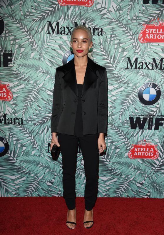 Zoe Kravitz – Women in Film Pre-Oscar Cocktail Party in Los Angeles 2/24/ 2017