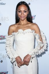 Zoe Saldana - Cadillac Celebrates Oscar Week in Los Angeles 2/23/ 2017