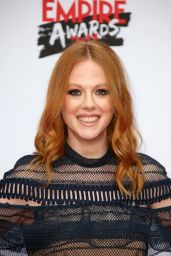 Zoe Boyle - Three Empire Awards at Roundhouse in London 3/19/ 2017