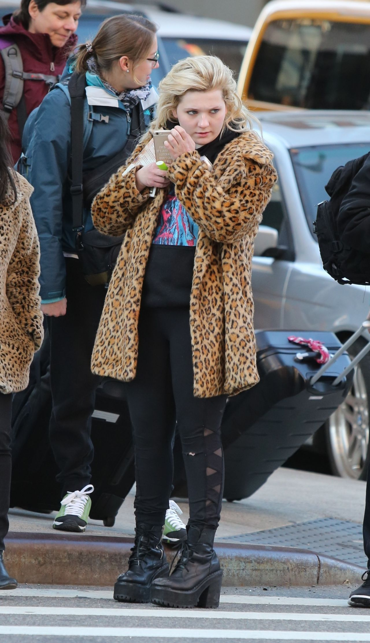 Abigail Breslin - Out in Lower Manhattan, NY 3/5/2017