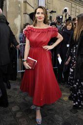 Adriana Abascal at Valentino Show in Paris 3/5/ 2017