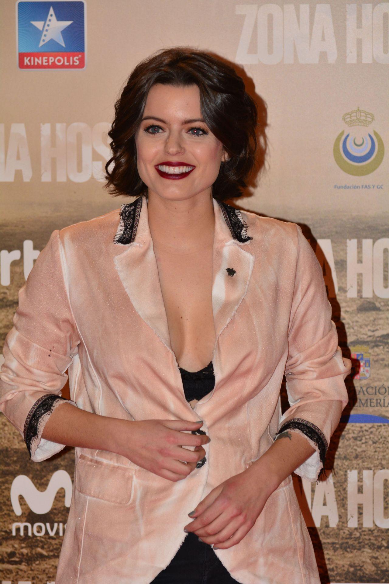 Adriana Torrebejano – 'Zona Hostil' Premiere in Madrid 3/9/ 2017