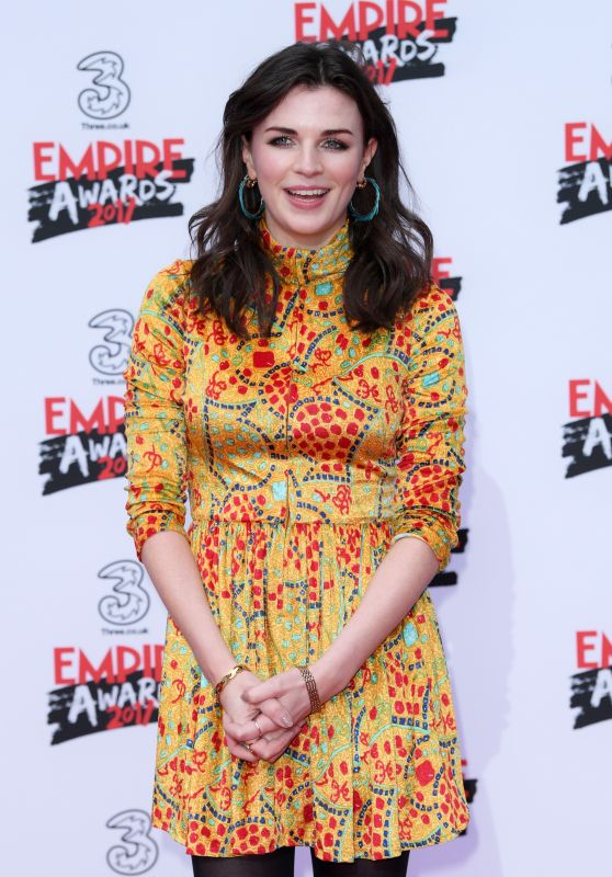 Aisling Bea – Three Empire Awards in London 3/19/ 2017