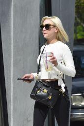 Alessandra Torresani Street Style - Running Errands in West Hollywood 3/10 /2017