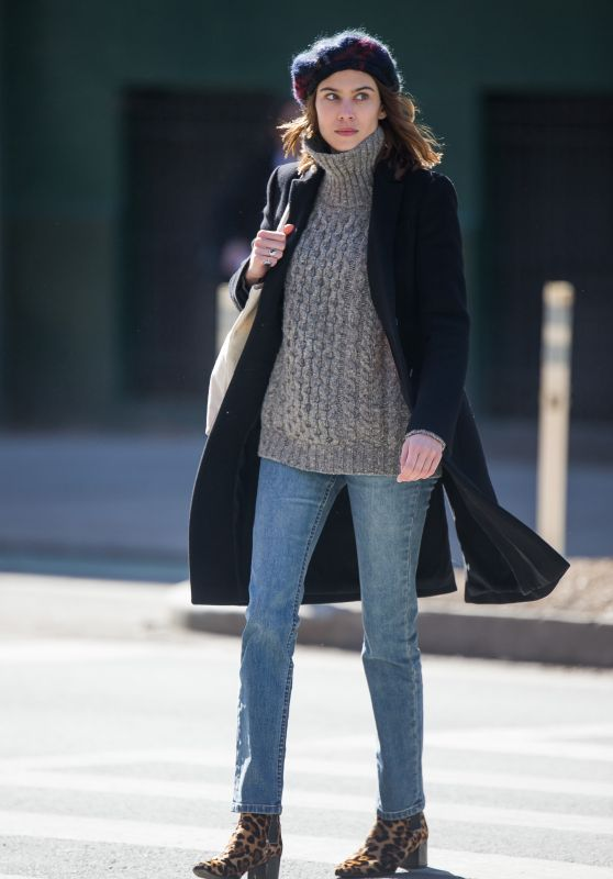 Alexa Chung - Out in New York 3/21/ 2017