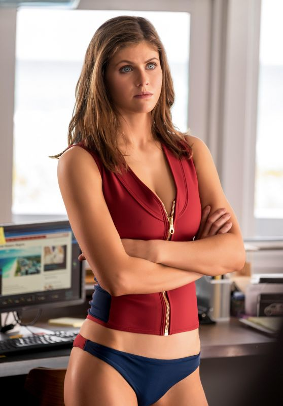Alexandra Daddario - Baywatch Comedy Movie Promos (2017)