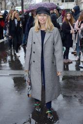 Alexandra Golovanoff at Paris Fashion Week – Arriving at the Lanvin Show 3/1/ 2017