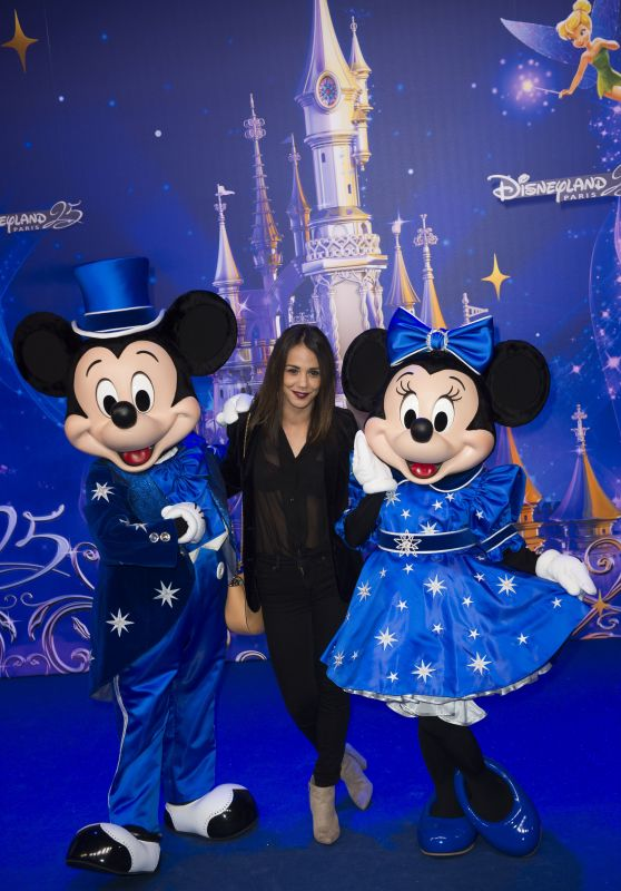Alice Belaidi – Disneyland Paris 25th Anniversary 3/25/2017