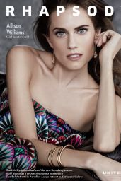 allison williams rhapsody march 2017 issue. Black Bedroom Furniture Sets. Home Design Ideas