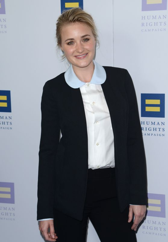 Amanda AJ Michalka - Human Rights Campaign Gala Dinner in LA 3/18/ 2017