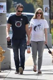 Amanda Seyfried - Walking Her Dog in Los Angeles 3/7/ 2017