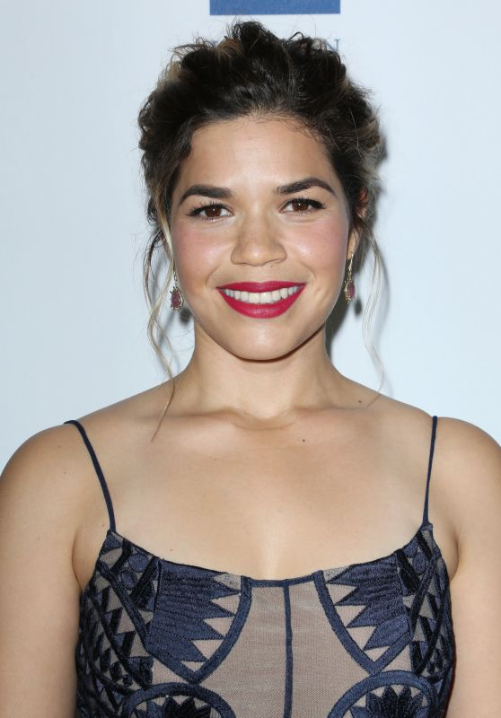 America Ferrera - Human Rights Campaign Gala Dinner in Los Angeles 3/18/ 2017