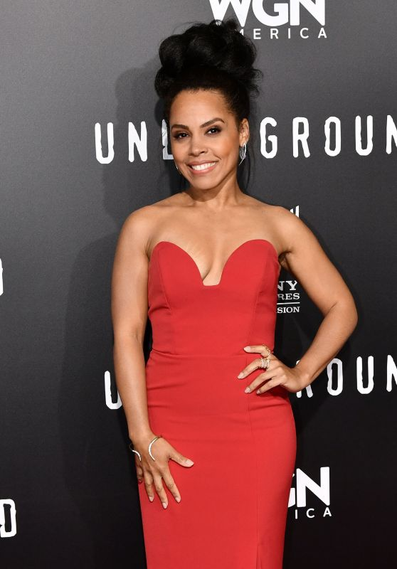 Amirah Vann at 'Underground' TV Series Season 2 Premiere in Los Angeles 2/28/ 2017