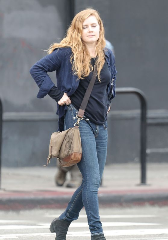 "Amy Adams - ""Sharp Objects"" Set in Downtown Los Angeles 3/21/ 2017"