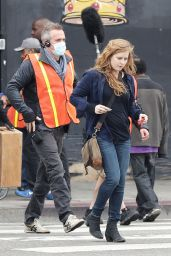 Amy Adams Quot Sharp Objects Quot Set In Downtown Los Angeles 3