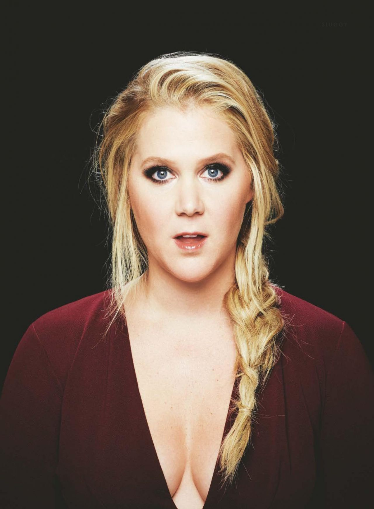 Amy Schumer Glamour Magazine Uk May 2017 Issue