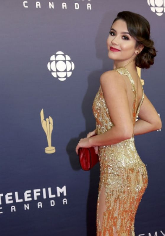 Ana Golja - Canadian Screen Awards 3/17/ 2017