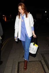 Angela Scanlon at Women's University Club in London 3/10/ 2017