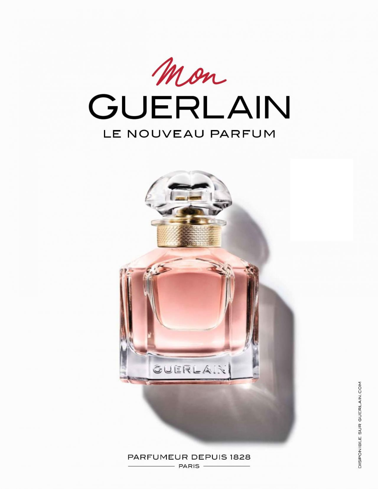 Angelina Jolie Guerlain Mon Guerlain Fragrance 2017
