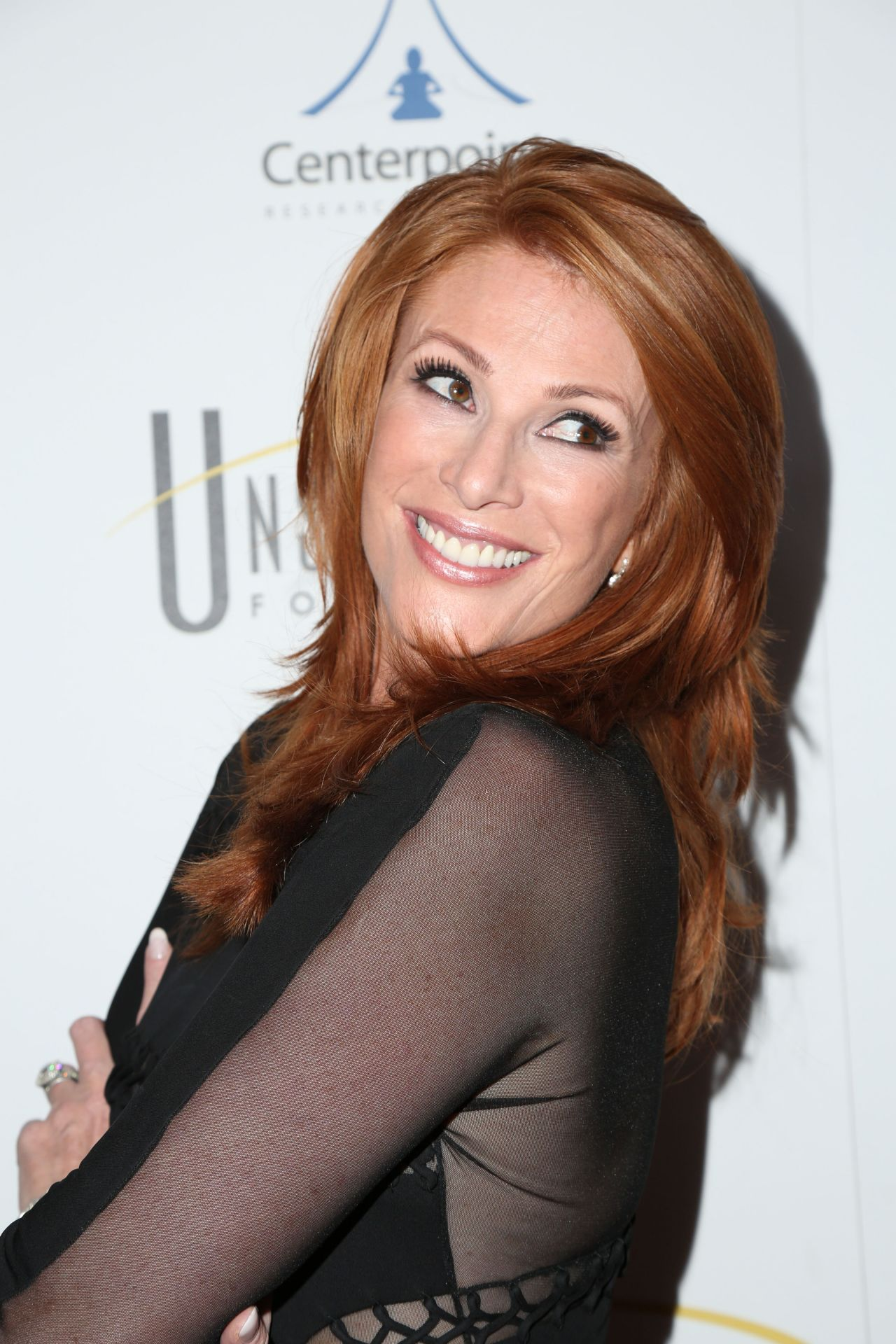 Angie Everhart Unstoppable Foundation Gala In Beverly