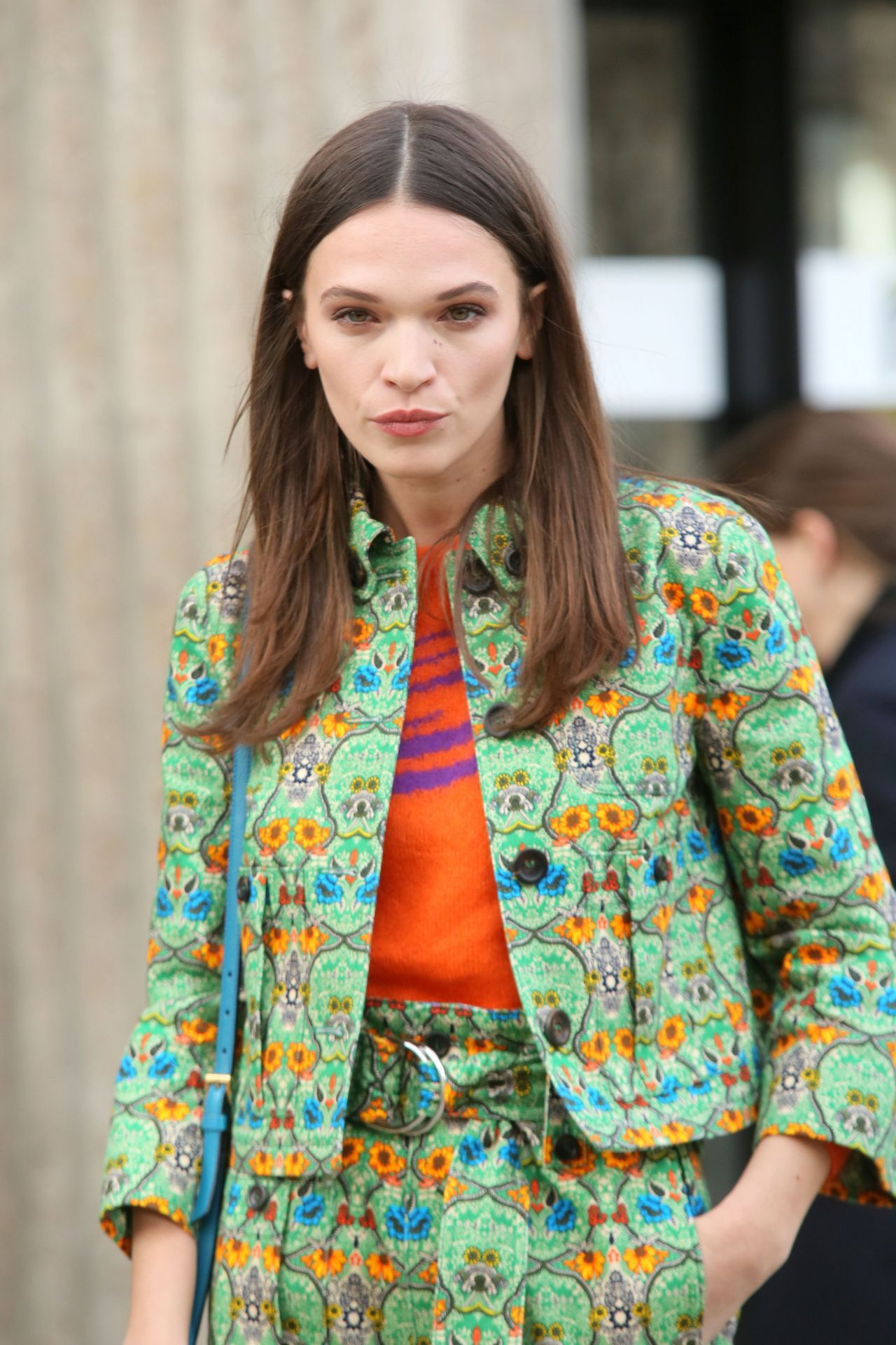 Anna Brewster - Miu Miu Show at Paris Fashion Week 3/7/ 2017