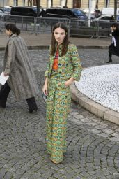 Anna Brewster - Miu Miu Show at Paris Fashion Week 3/7/ 2017