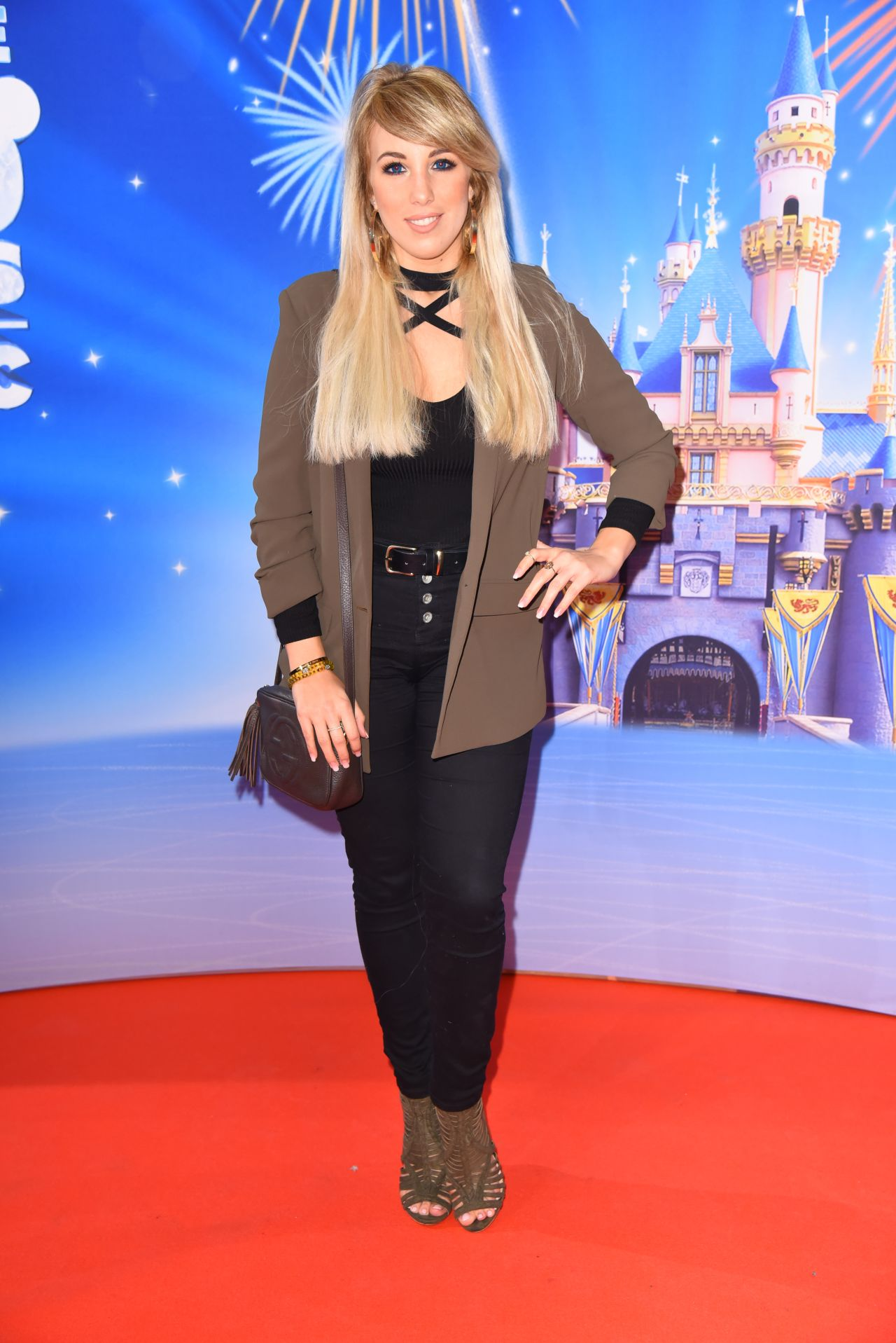 Annemarie Eilfeld at 'Disney on Ice' Premiere in Velodrom, Berlin 3/2/ 2017