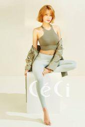 AOA Yuna - Céci Magazine March 2017