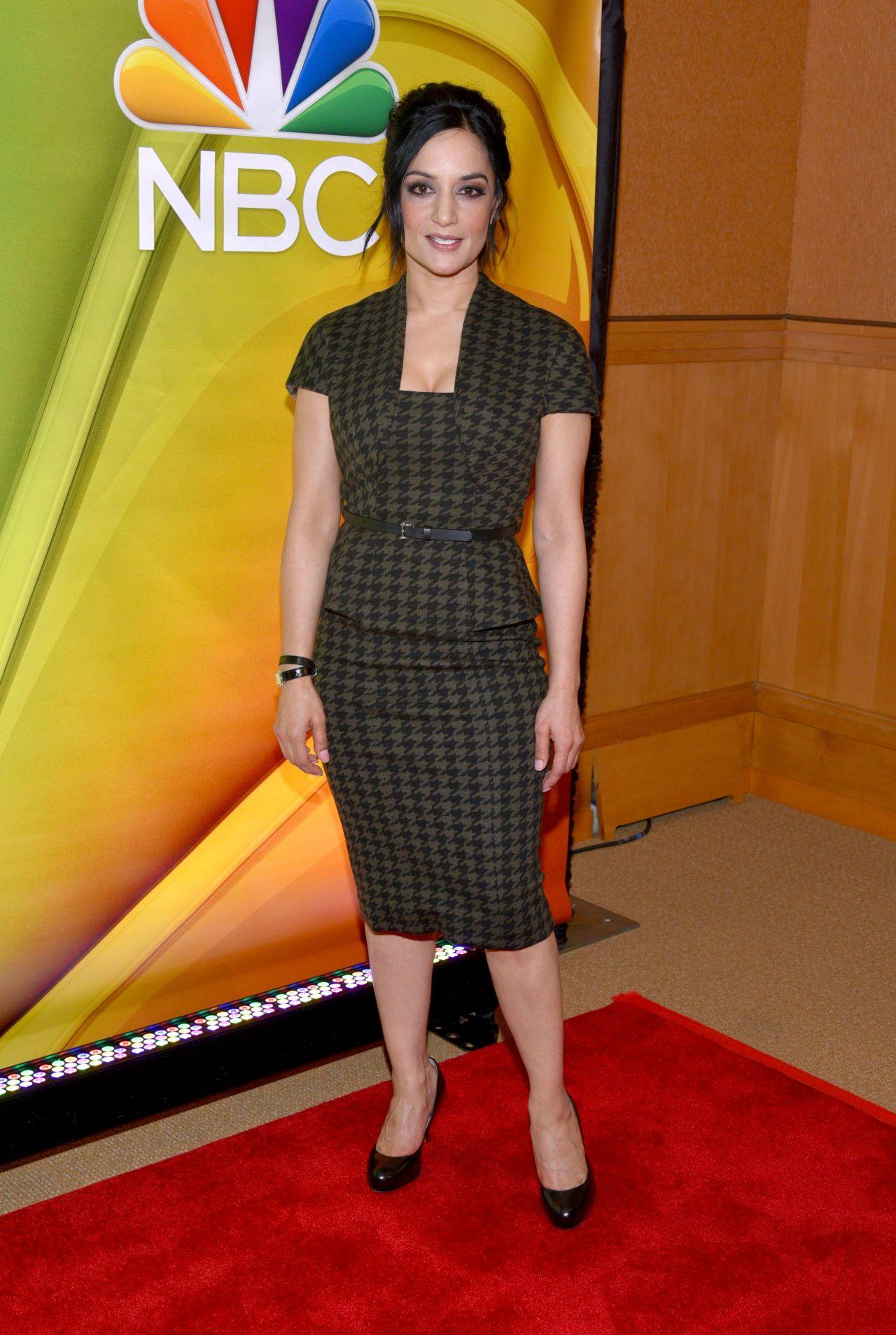 Archie Panjabi – NBC Mid Season Press Day in New York 3/2 ...