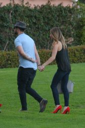 Ashley Greene - Arrives for a Romantic Dinner With Her Fiancé Paul Khoury at The Beverly Hills Hotel 3/13/ 2017