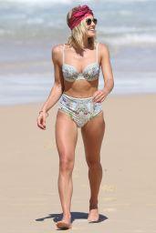 Ashley Hart in Bikini on the Beach in Sydney, Australia 3/11/ 2017