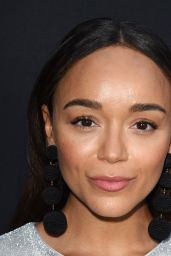 """Ashley Madekwes on Red Carpet – """"The Zookeeper's Wife"""" Premiere in Los Angeles"""