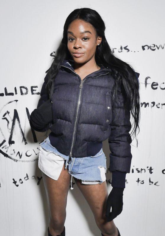 Azealia Banks – Moncler and Greg Lauren 'Collide' Party in Paris 3/3/ 207