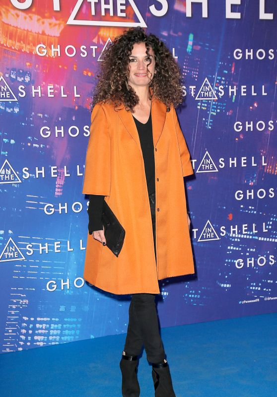 Barbara Cabrita - Ghost in the Shell Premierein Paris 3/21/ 2017