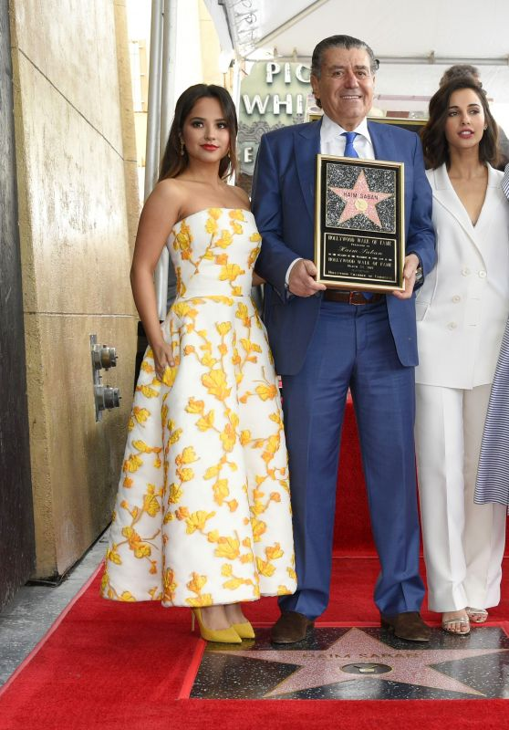 Becky G, Elizabeth Banks, Naomi Scott - Haim Saban Honored With a Star on The Hollywood Walk of Fame in LA 3/22/ 2017