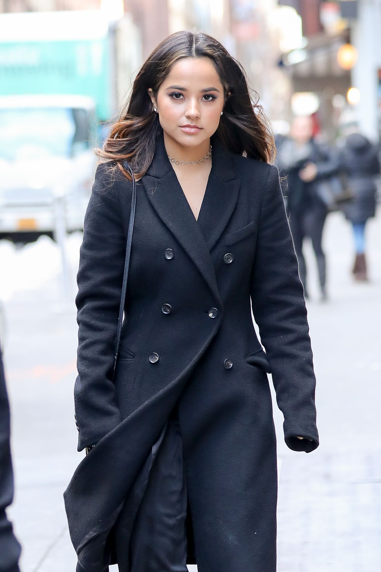 Becky G - Out in Midtown, New York 3/21/ 2017