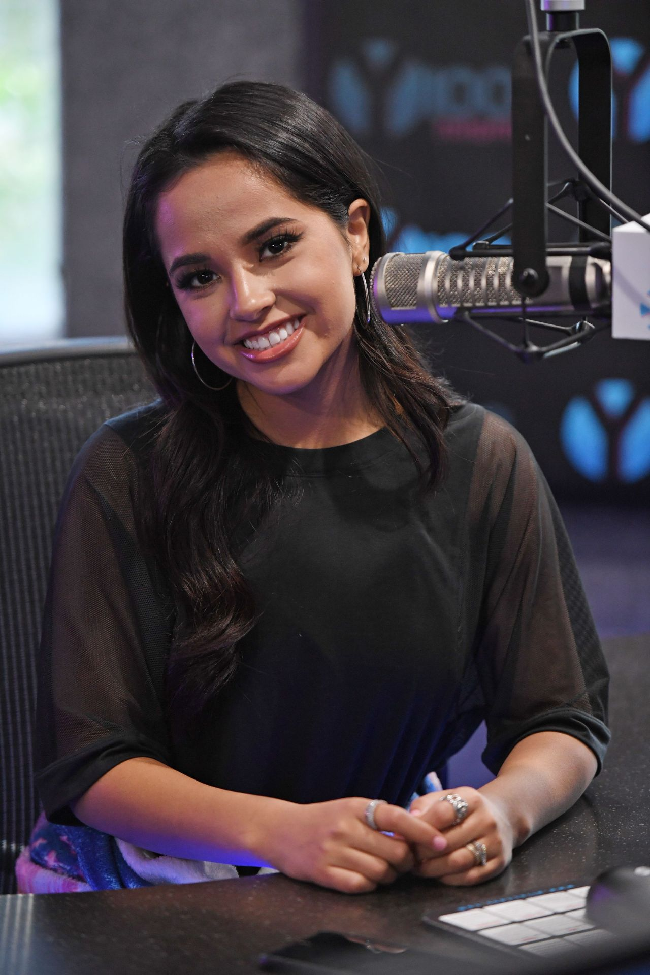 Becky G Power Rangers Fan Event At Iheartradio Station
