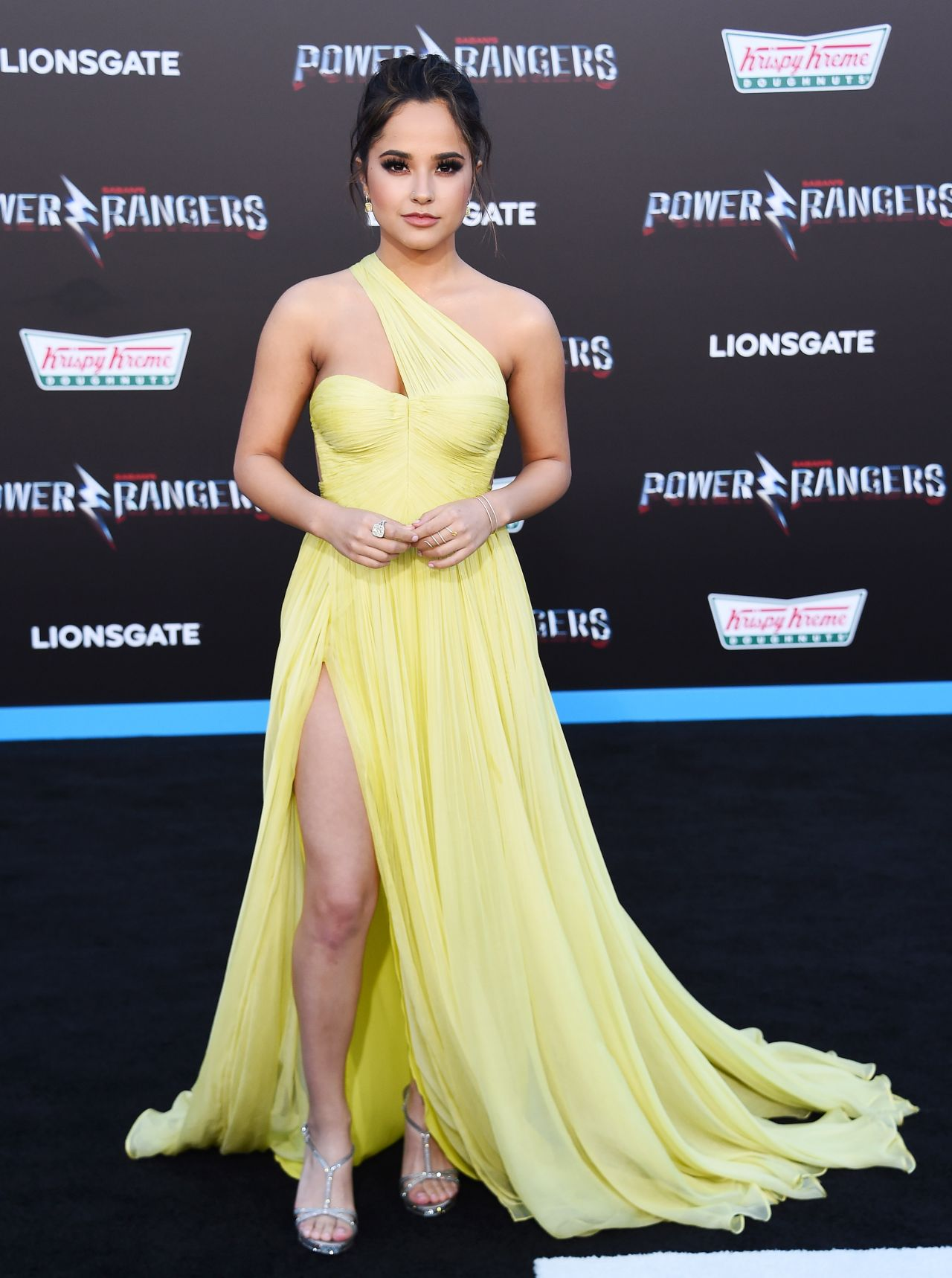 """Becky G – """"Power Rangers"""" Premiere in Los Angeles 3/22/ 2017"""