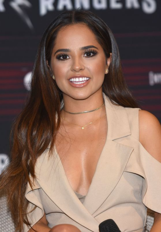 Becky G - Power Rangers Press Conference in Mexico City  3/15/ 2017