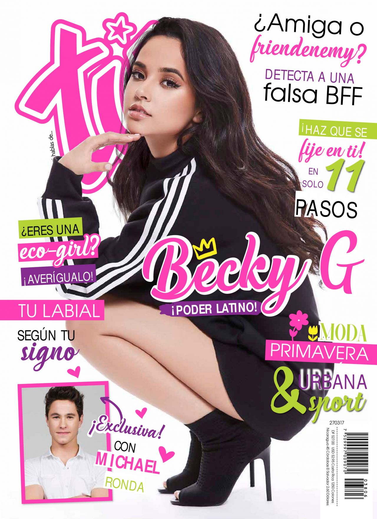 Becky G - Tú Magazine March 2017 Issue