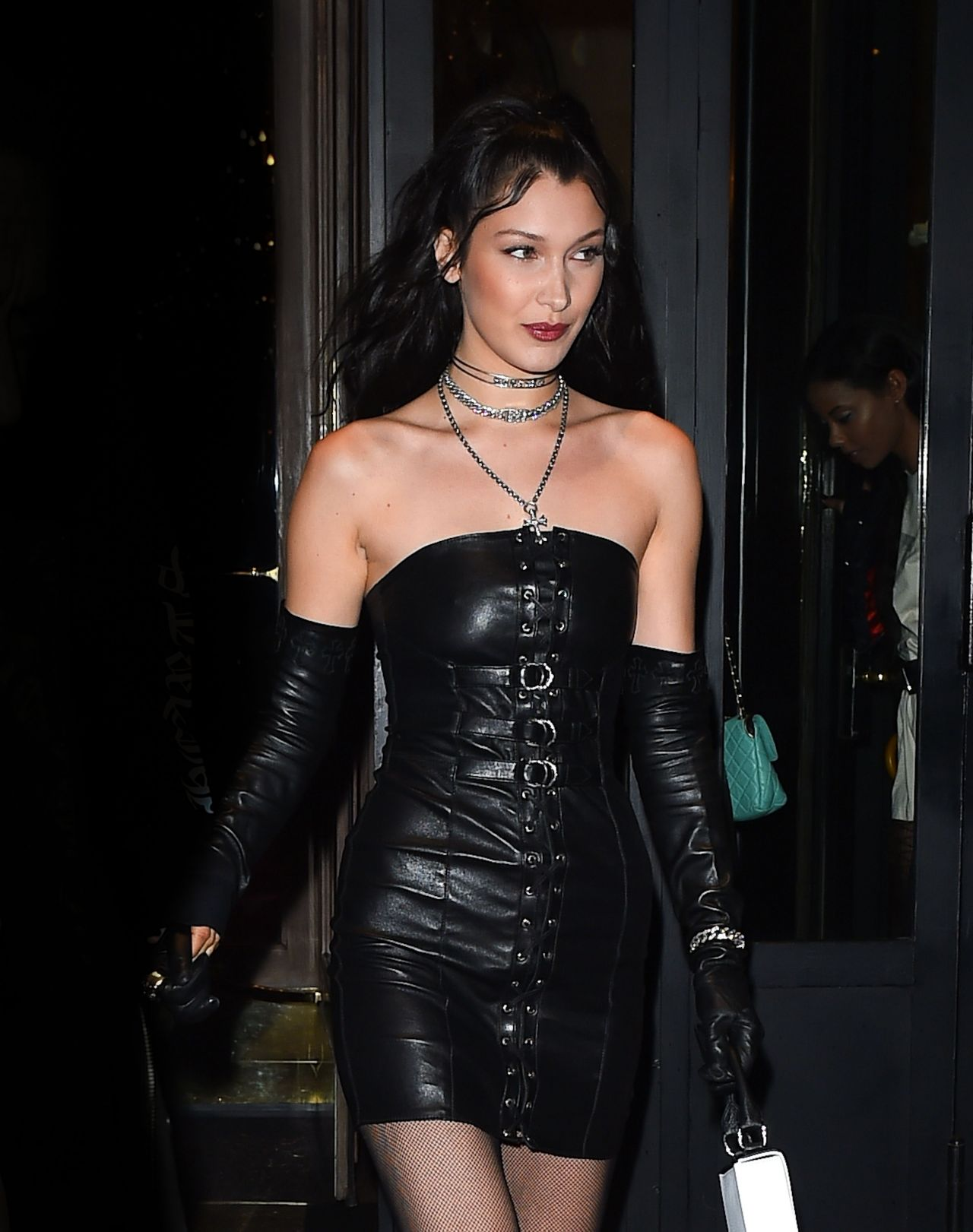 Bella Hadid Night Time Out Fashion - Paris 34 2017-7064