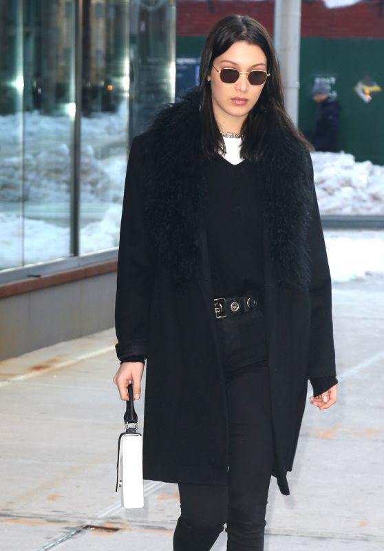 Bella Hadid- Oout in NYC 3/16/ 2017