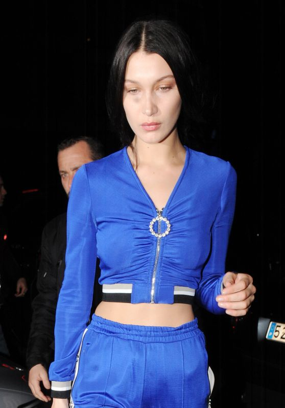 Bella Hadid - Out in Paris 3/2/ 2017