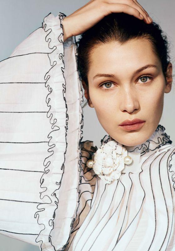 Bella Hadid - Vogue China April 2017 Photos