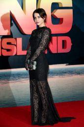 Billie JD Porter - Kong Skull Island Premiere in London 2/28/ 2017